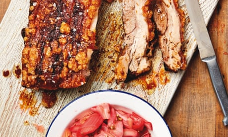 The weekend cook: Thomasina Miers' rhubarb recipes