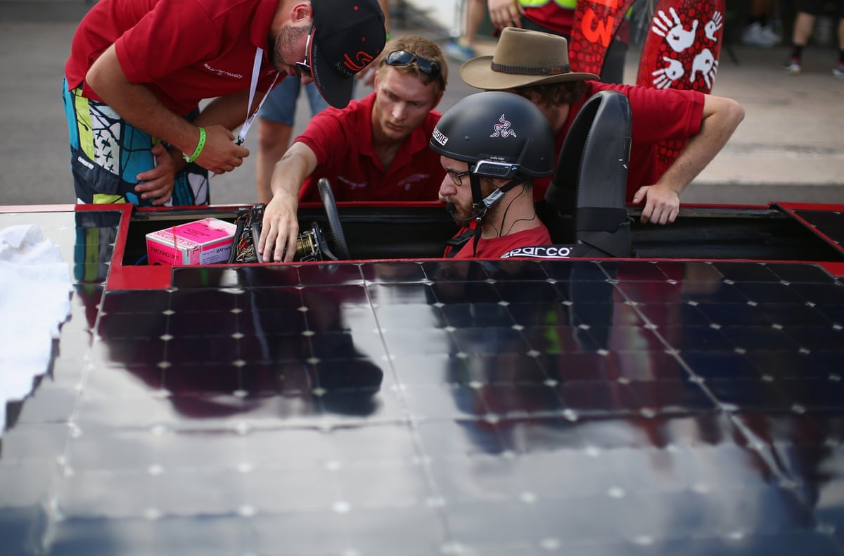 World Solar Challenge Australian Electric Car Race