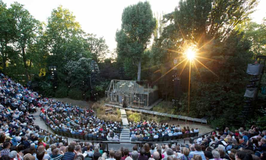2018 production of The Turn of The Screw at Regent's Park Open Air Theatre.