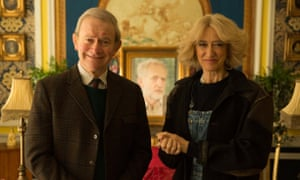 Give that man a knighthood … Harry Enfield as Prince Charles and Haydn Gwynne as Camilla Parker Bowles in The Windsors.
