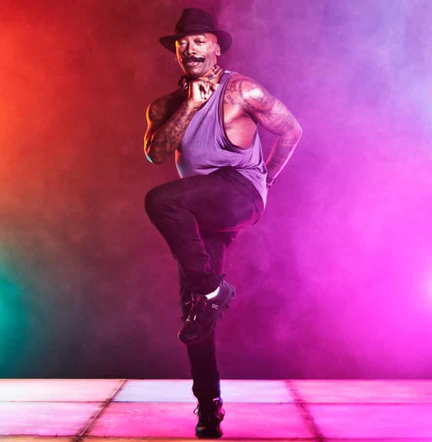 Clubber Roy Brown on dancefloor