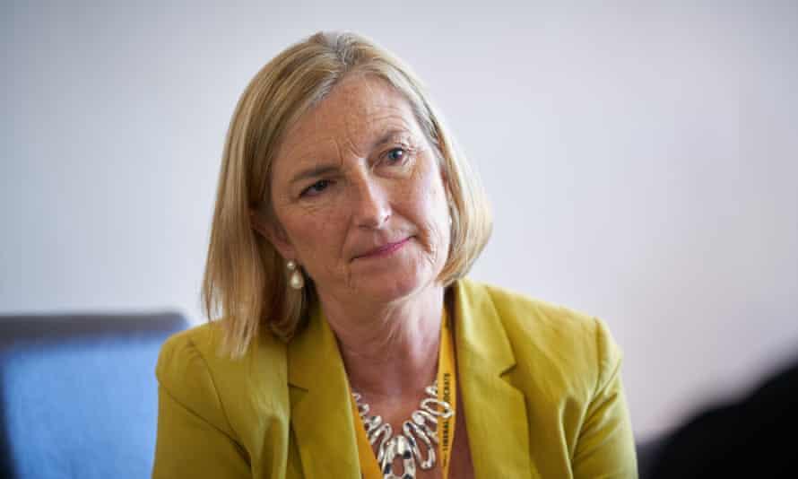 The Lib Dem MP Sarah Wollaston