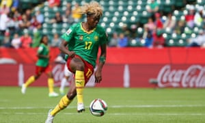 Gaëlle Enganamouit emerged at the last World Cup in Canada and Cameroon will look to her for goals again.