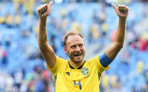 Andreas Granqvist has been a true leader for Sweden.
