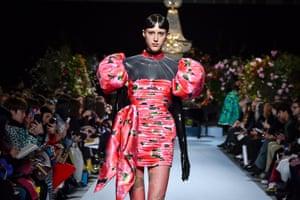 Richard Quinn show during London fashion week