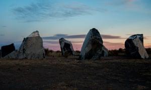 Stone Circle by Haroon Mirza.