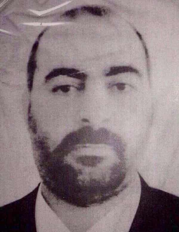 A photograph said to be of Abu Bakr al-Baghdadi released by the Iraqi Ministry of Interior in 2014.
