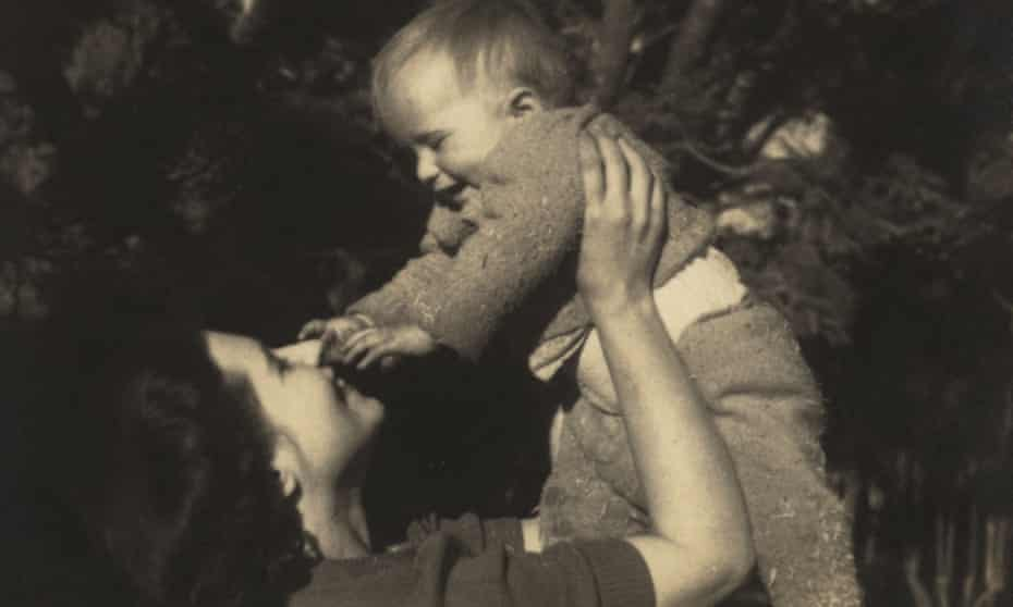 Doris Lessing with her son, Peter.