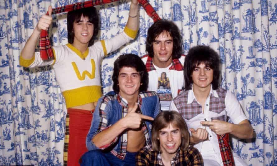 clockwise from left, Stuart Wood, Les McKeown, Alan Longmuir, Eric Faulkner and Derek Longmuir.
