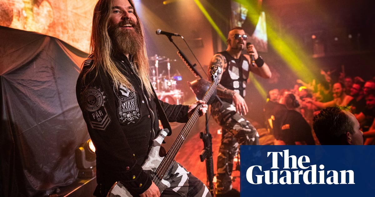 This ones for Lawrence of Arabia! Meet Sabaton, the heavy metal military historians