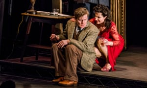 Charles Edwards and Kate Fleetwood in Hill-Gibbins' revival of Absolute Hell.