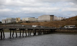 McNeil Island, owned by Washington State, is inhabited solely by residents of the state-run McNeil Island Special Commitment center.