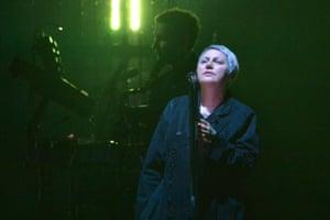 Elizabeth Fraser at the O2 on Friday.