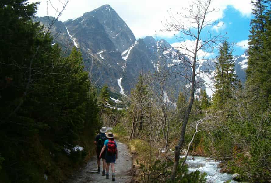 Walking in the High Tatras