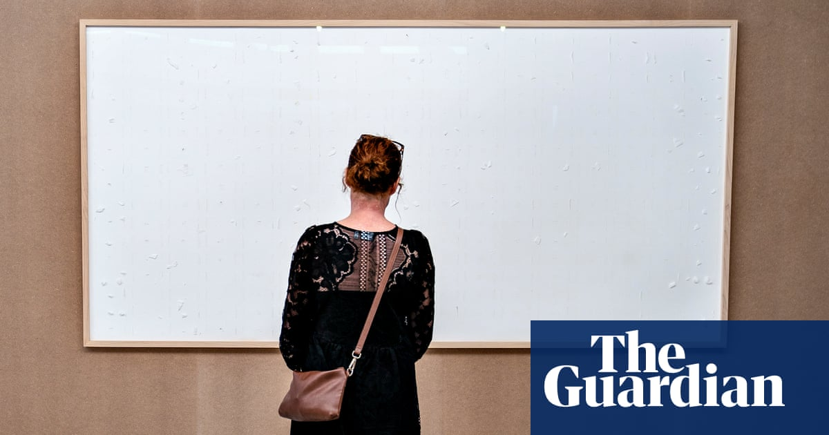 Danish artist delivers empty frames for $84k as low pay protest
