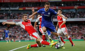 The contribution of Nemanja Matic, in action here against Arsenal, has been key but can go unheralded.
