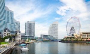 Yokohama skyline and waterfront