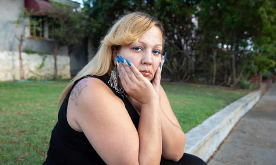 Fouzia Almarou, who son Kenneth Ross was shot by police.