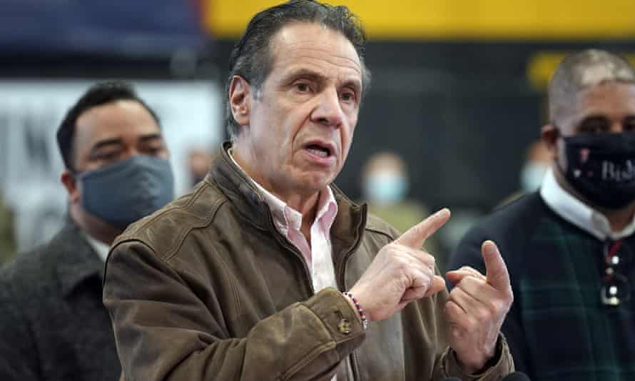 Andrew Cuomo's star rose dramatically last year for his forthright response to the coronavirus crisis but now the New York governor is on the defensive.