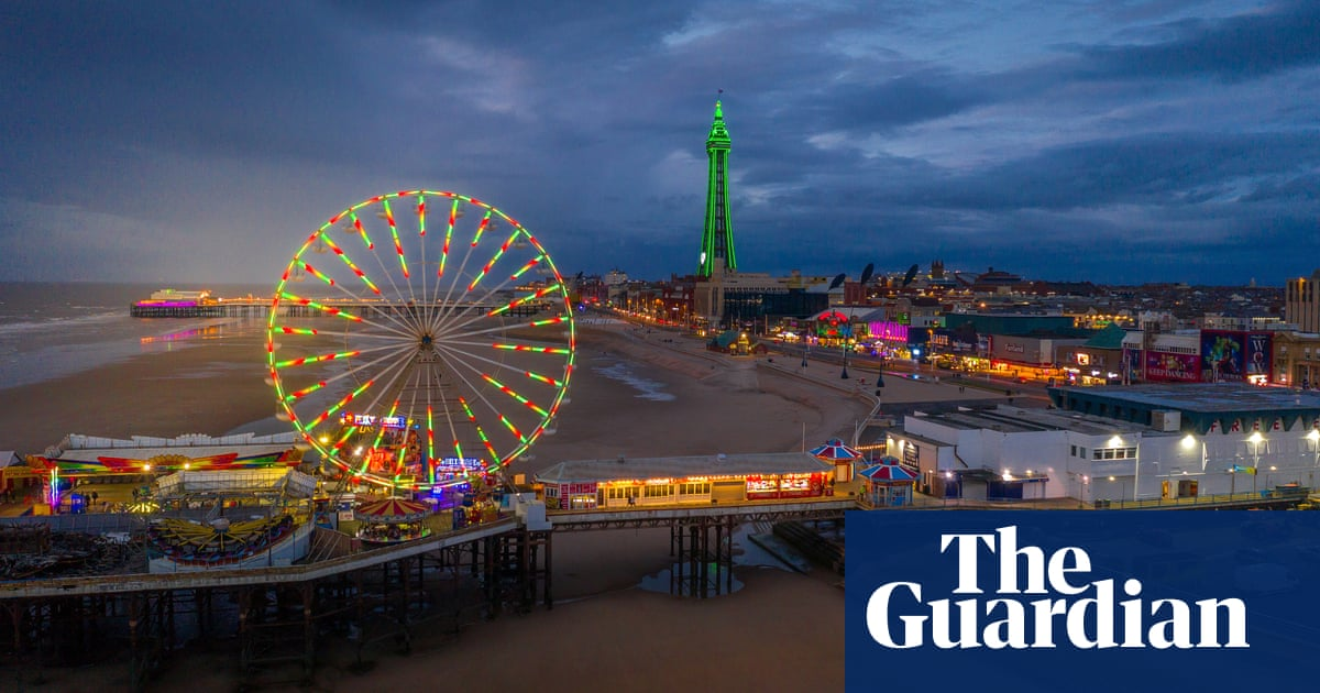 You don't come on holiday to Blackpool for a good night's sleep