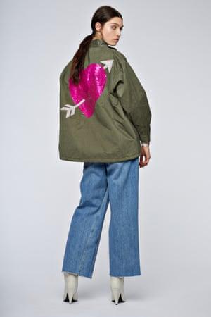Jacket, £280, essentielantwerp.com