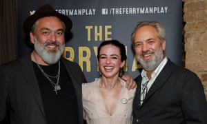 Jez Butterworth, Laura Donnelly and Sam Mendes