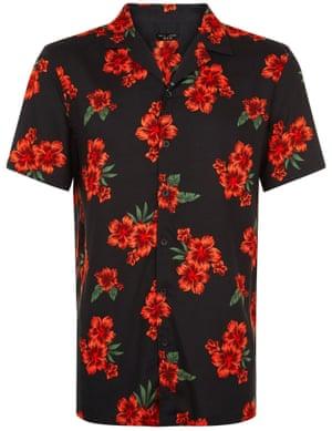 Red flower, £7.99, newlook.com.
