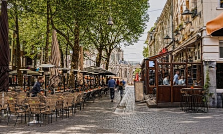 The medieval city of Breda has flipped its cobblestones and sliced them to create a more accessible but still photogenic street.