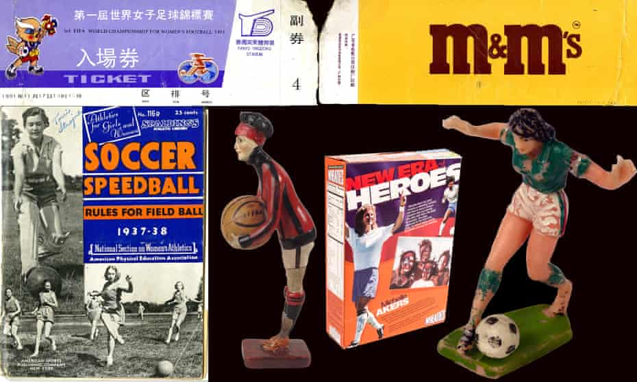 Exhibits which will be on display at the Exhibition at the National Football Museum.