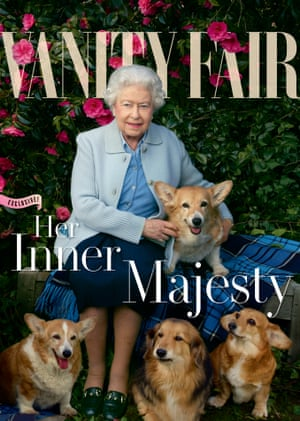 The Queen on the cover of this summer's Vanity Fair.