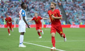 Dries Mertens celebrates after opening the scoring just after the interval with a spectacular volley.