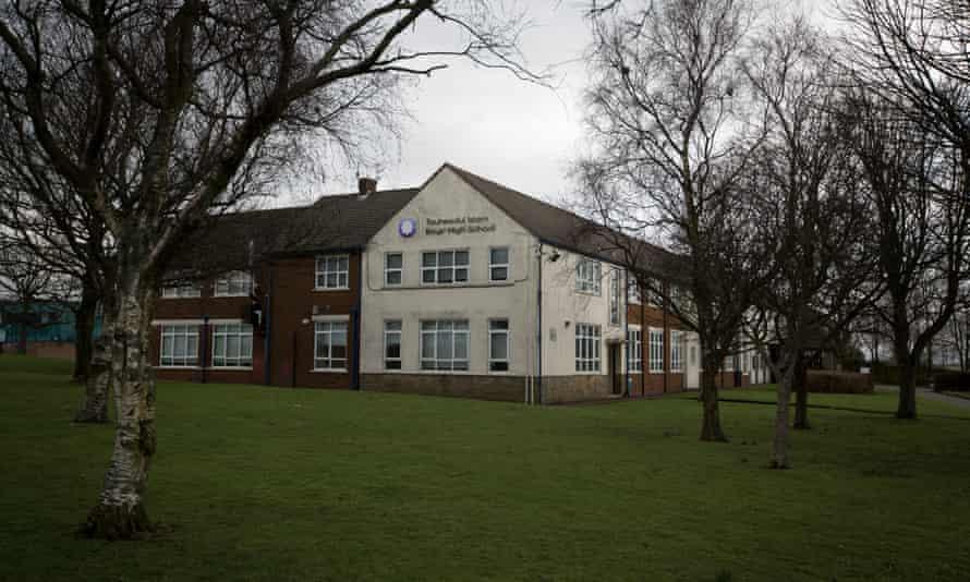 Tauheedul Islam boys' high school in Blackburn.