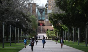 Students enter the University of New South Wales