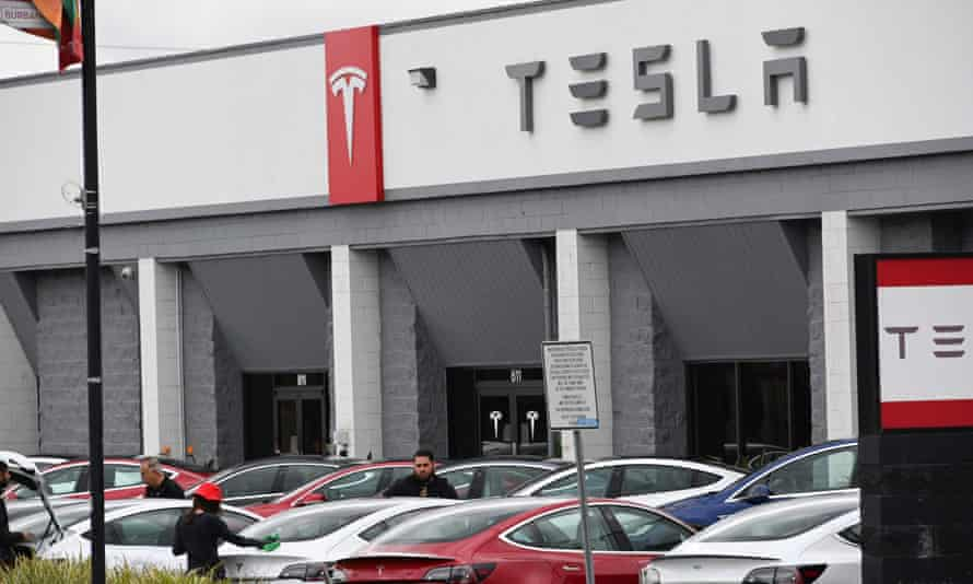 Tesla CEO Elon Musk has been in an standoff with state authorities over the company's plant in Fremont, California.