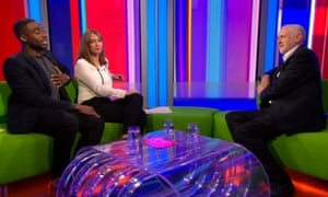 Jeremy Corbyn told The One Show that he was 'giving it everything' to win the general election.