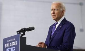 Democratic presidential candidate Joe Biden holds campaign event in Wilmington, Delaware.