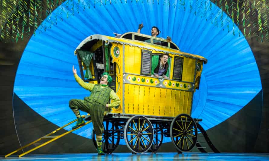 Making room on board ... the 2017 theatre adaptation of The Wind in the Willows.