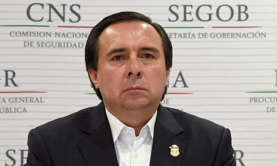 The former director of the Criminal Investigation Agency Tomás Zerón in 2014.