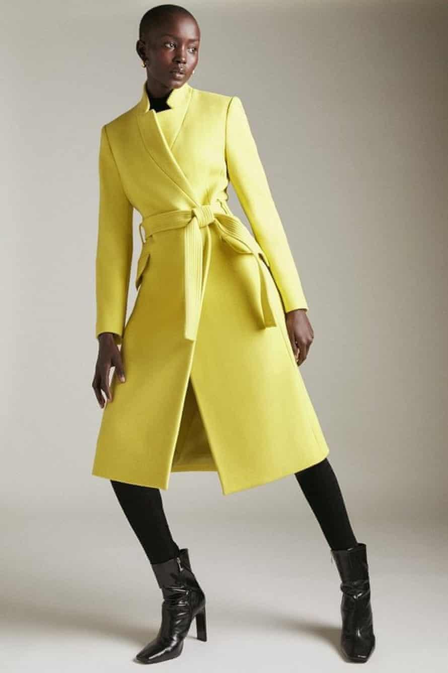 Italian wool, £349, karenmillen.com