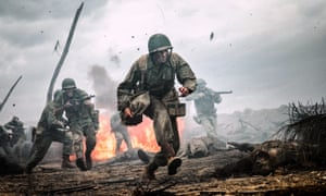 An end to conflict? A scene from Hacksaw Ridge (2016).