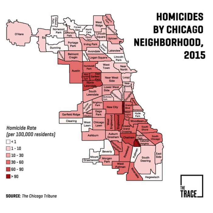 How to investigate Trump's claims for yourself – a guide to ... Chicago Murder Map on chicago cook county illinois map, chicago canada map, chicago death map, chicago texas map, chicago shootings, chicago murders over the weekend, chicago neighborhood map, chicago street map, chicago mafia map, chicago gang murders, worst parts of chicago map, chicago homicides by year, chicago gang map, chicago race map, dangerous parts of chicago map, chicago california map, chicago gang neighborhoods, chicago crime heat map, homicide map,