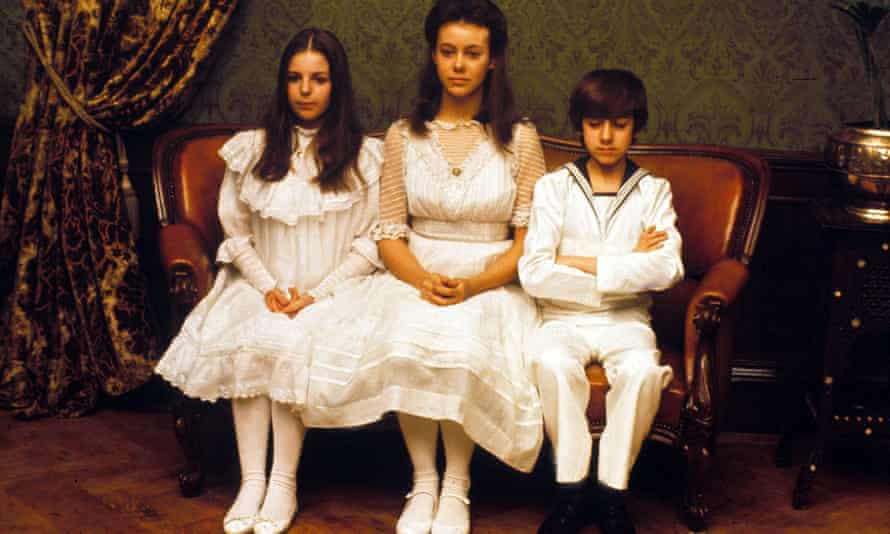 From left: Sally Thomsett, Jenny Agutter and Gary Warren in the 1970 film of The Railway Children.