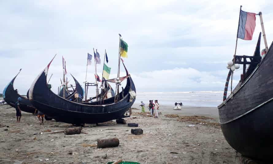 Rohingya risk their lives at sea to escape Bangladesh refugee camps by crossing the Bay of Bengal or Andaman Sea.