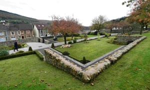 The Aberfan memorial garden.