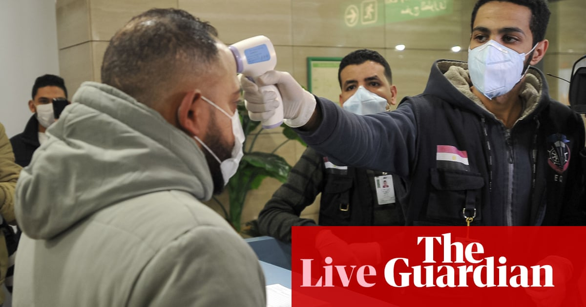 First Confirmed Virus Case In Africa As It Happened World News The Guardian