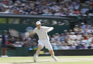 Murray in action.