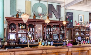 Bar at The Red Lion, Leytonstone, London, E11