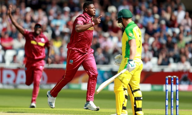 Australia v West Indies: Cricket World Cup 2019 – live!