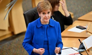 Nicola Sturgeon has appealed to the Scottish public to comply voluntarily with the regulations from Wednesday.