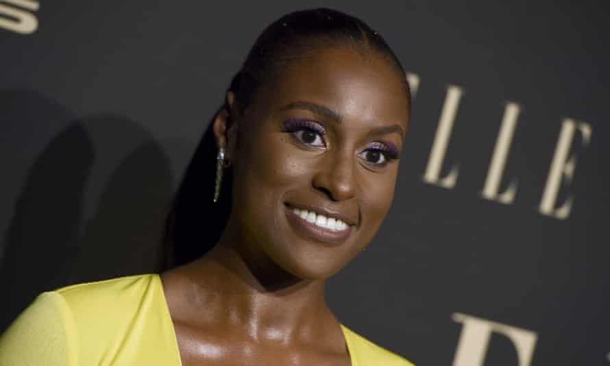Actor Issa Rae made her disappointment with the Oscars' lack of diversity known when the nominees for best director were announced on Monday.